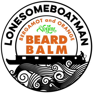 LonesomeBoatman Beard Balm Bergamot and Orange Design